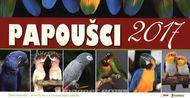 Papoušci - Stolový kalendár 2017