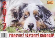 Pes přítel clověka - nástěnný plánovací kalendář pro rok 2017