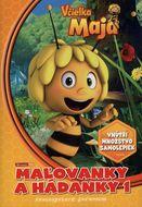 Včielka Maja - maľovanky a hádanky 1