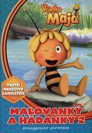 Včielka Maja - maľovanky a hádanky 2