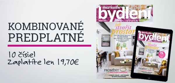 časopis Marianne bydlení - predplatné - PRESS.SK 041923a7cd