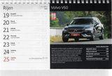 Stolný kalendár Auta 2020