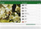 Stolný kalendár Naše příroda 2020
