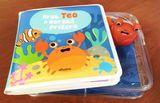 Krab Teo a morská príšera - knižka do vane