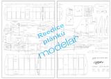 Modelársky plán lietadla: Mono-Club