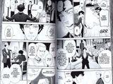 kniha komiks Sherlock