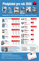 Predplatné časopisov z vydavateľstva Magnet Press Slovakia  na rok 2020