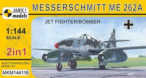 Model Messerchmitt Me 262A Jet fighter/Bomber (2v1) MKM144116