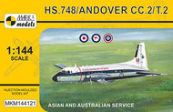MKM144121 Hawker Siddeley HS.748 Andover Military 'Asia & Australia'