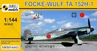 Fw Ta 152H 'Special Schemes' ( mierka 1/144 )