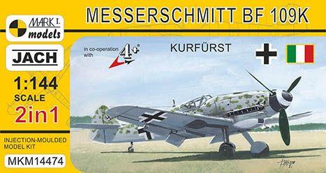 Model Messerschmitt Bf 109K-4 Kunsgurst (2v1) MKM14474