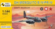 Stavebnica DH Mosquito B.IV Swift Warrior (1:144)