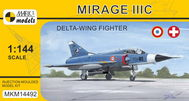 Model Mirage IIIC 'Delta-wing Fighter' (1:144)