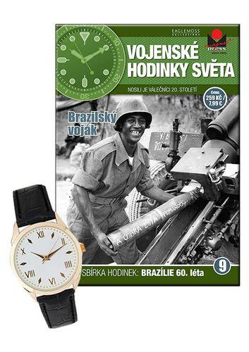 Vojenské hodinky světa č.09 - Brazilský voják, 60. léta 20. století