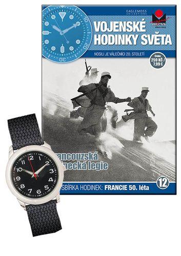 Vojenské hodinky světa č.12 - Francouzská cizinecká legie, 50. léta 20. století