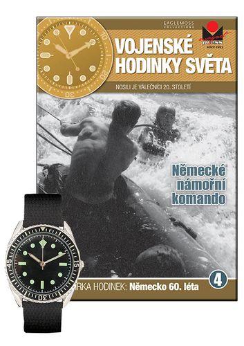 Vojenské hodinky světa č.04 - Německé námořní komando - 60. léta