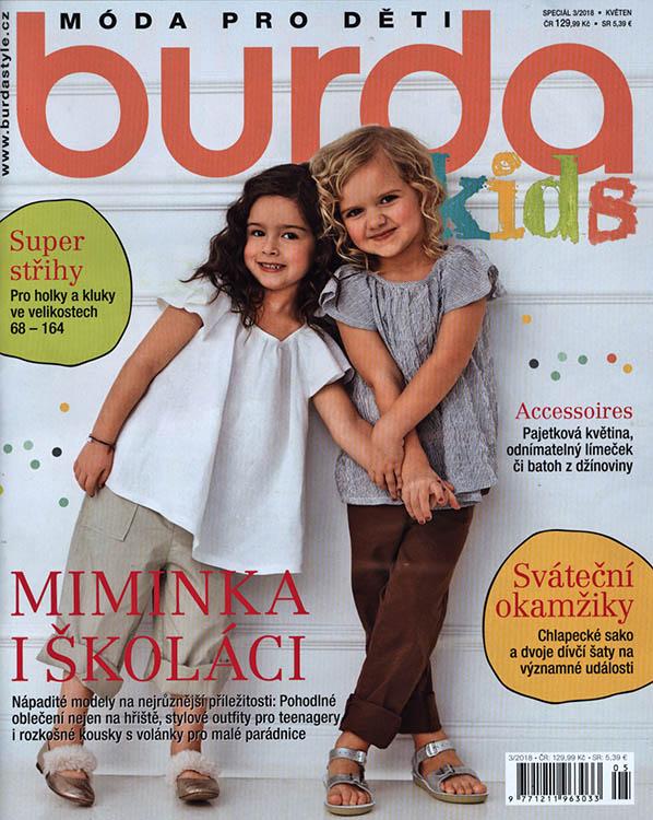 ad7f11132 Burda Kids - Móda pro děti speciál 2018 - PRESS.SK