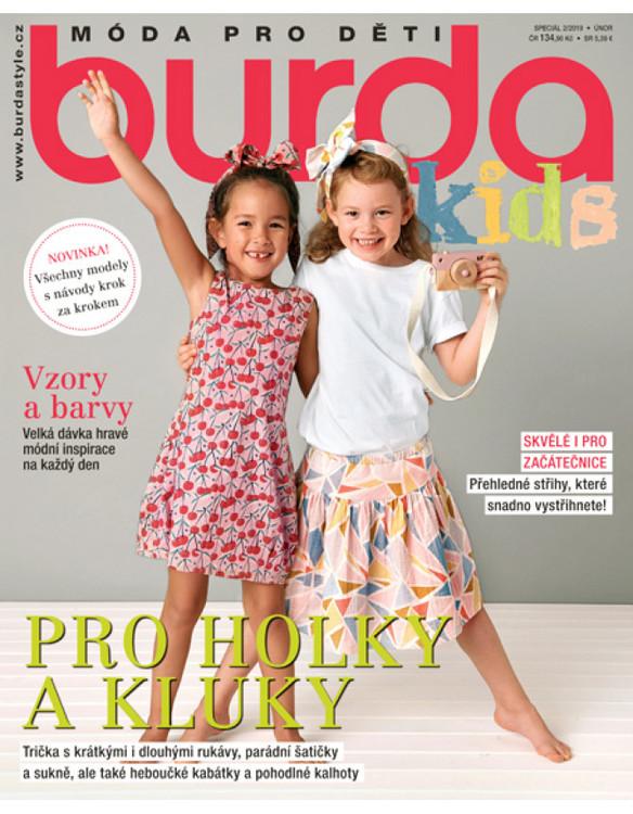 f14407dac Burda Kids - Móda pro děti - speciál 2/2019 - PRESS.SK