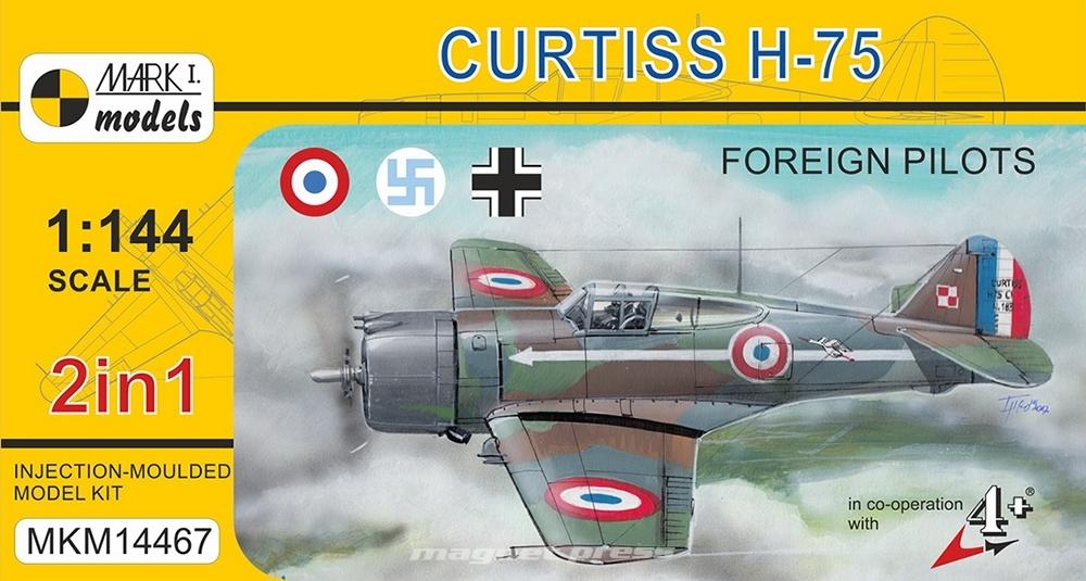 Curtiss H-75 Foreign pilots
