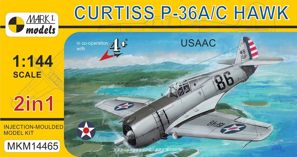 Curtiss P-36A/C Hawk USAAC