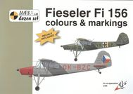 Fieseler Fi 156 - colours & markings 1:48