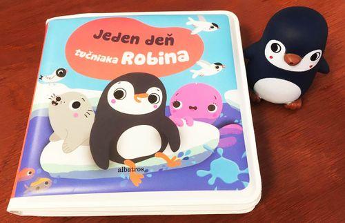 Jeden deň tučniaka Robina - knižka do vane