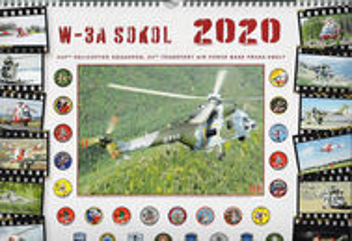 Nástenný kalendár 2020 W-3A SOKOL