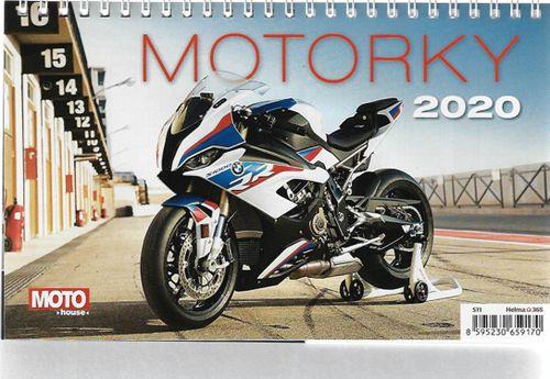 Stolný kalendár Motorky 2020
