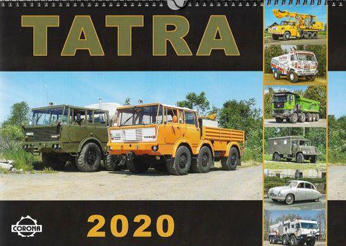 Nástenný kalendár TATRA 2020