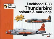 Lockheed T - 33 Thuderbird colours and marking 1/32