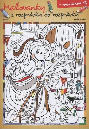 Maľovanky z rozprávky do rozprávky č.01