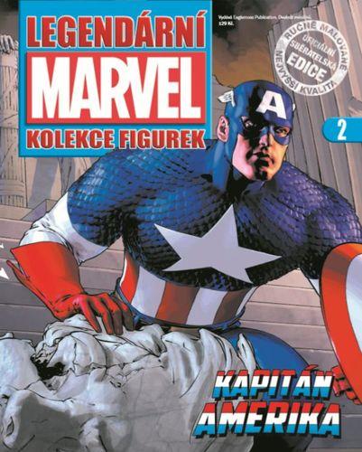 Marvel kolekcia figúrok č. 2 - Kapitán Amerika