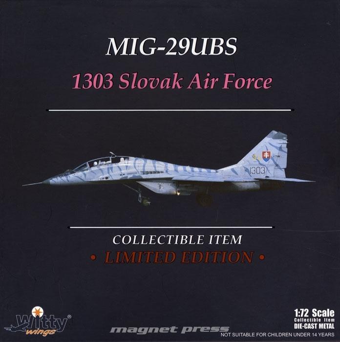 MiG-29UBS Slovak Air Force 1/72