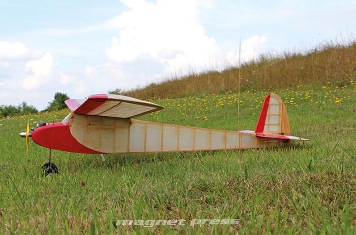 Modelársky plán lietadla: Miss Science