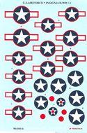 U.S. Air Force WWII - Obtlačky 1/48