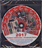 CD Amatérské Radio - Praktická elektronika ročník 2017