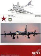 """Tupolev Tu-95MS """"Bear H"""" - kovový model 1:200"""