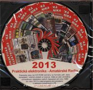 CD Amatérské radio - Praktická elektronika ročník 2013