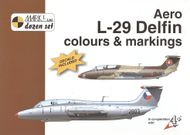 Aero L-29 Delfin colours & markings 1:48