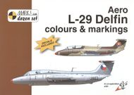 Aero L-29 Delfin colours & markings 1:72