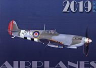 Aircraft 2019 - nástenný kalendár