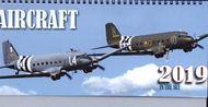 Aircraft 2019 - stolový kalendár