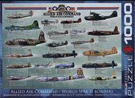 Puzzle 1000: Bombardéry II. svetovej vojny (Allied Air Command WWII Bombers)