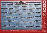 Puzzle 1000: Stíhačky II. svetovej vojny (Allied Air Command WWII Fighters)