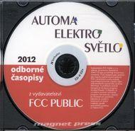 CD - Automa, Elektro, Světlo 2012
