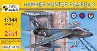 Hawker Hunter F.6A/FGA.9 'Elegant Fighter' - stavebnica