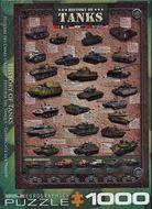 Puzzle 1000: História tanku (History of Tanks)