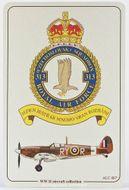 313. československá stíhací peruť RAF - ALUMCARD