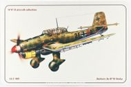 Junkers Ju-87 B Stuka - ALUMCARD