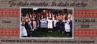 Slovenská svadba 2018 (stolový kalendár)